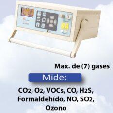 Analizador Portátil de Gas Ambiental